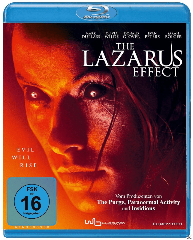 The Lazarus Effect - (Blu-ray)