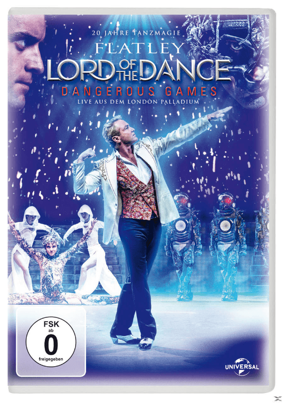 Lord Of The Dance - Dangerous Games - (DVD)