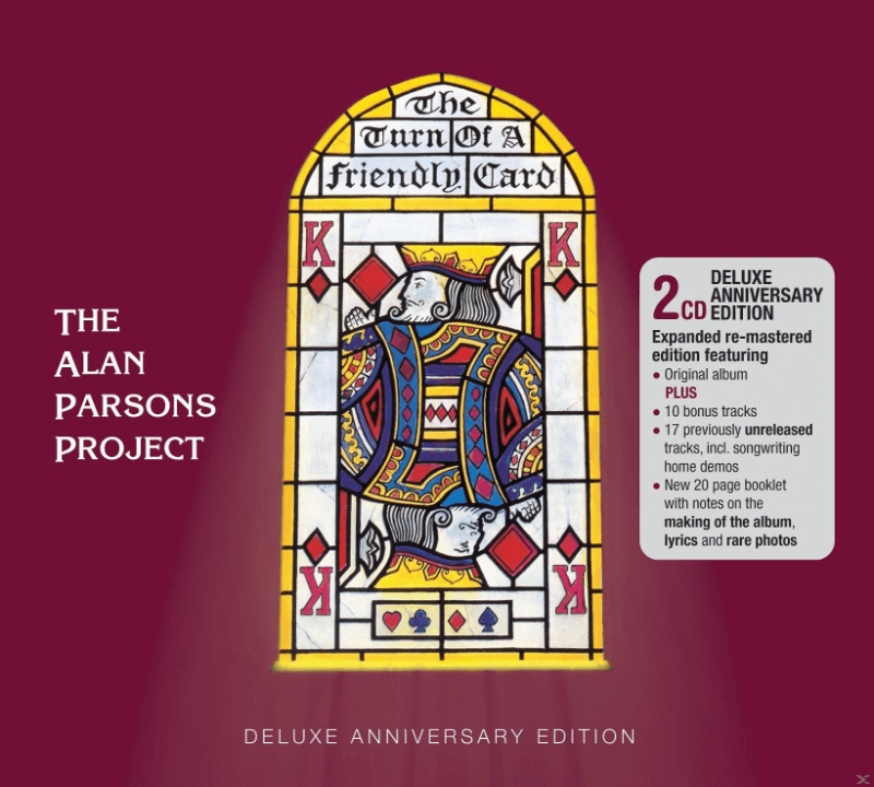 The Alan Parsons Project - Turn Of A Friendly Card (CD)