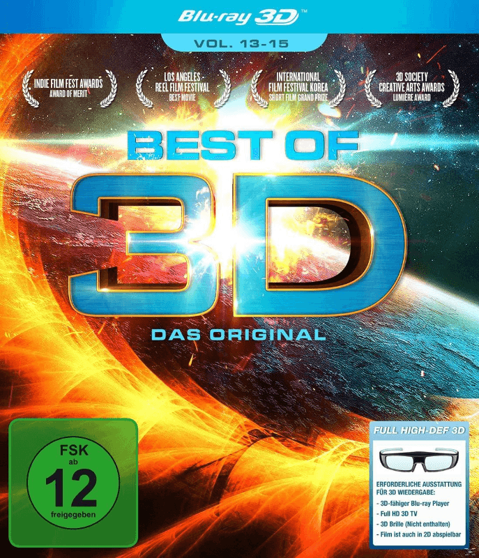 Best of 3D - Das Original - Vol. 13-15 - (Blu-ray 3D)