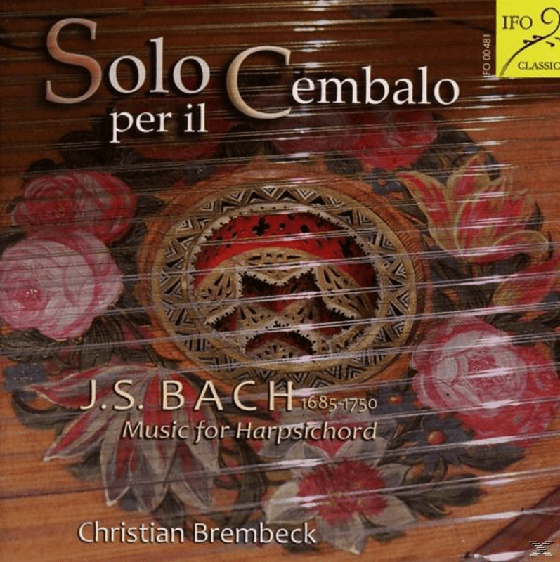 Christian Brembeck - Solo Cembalo - (CD)