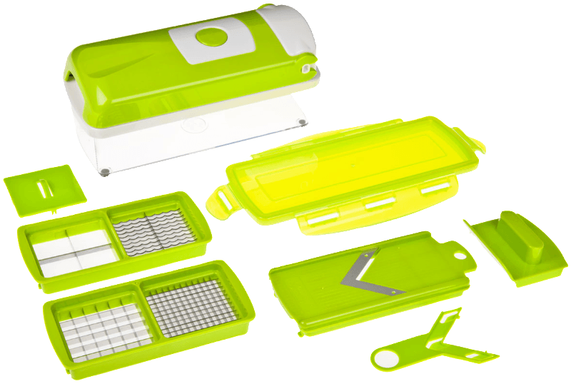 33594 Nicer Dicer Plus Kompakt 7-tlg., Hobel-Set