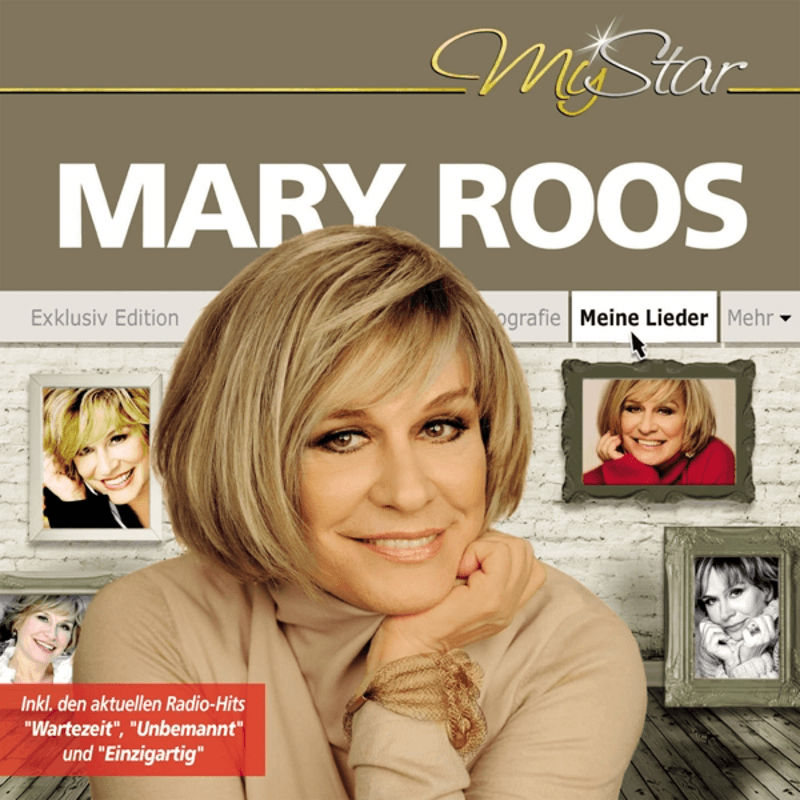 Mary Roos - My Star - (CD)