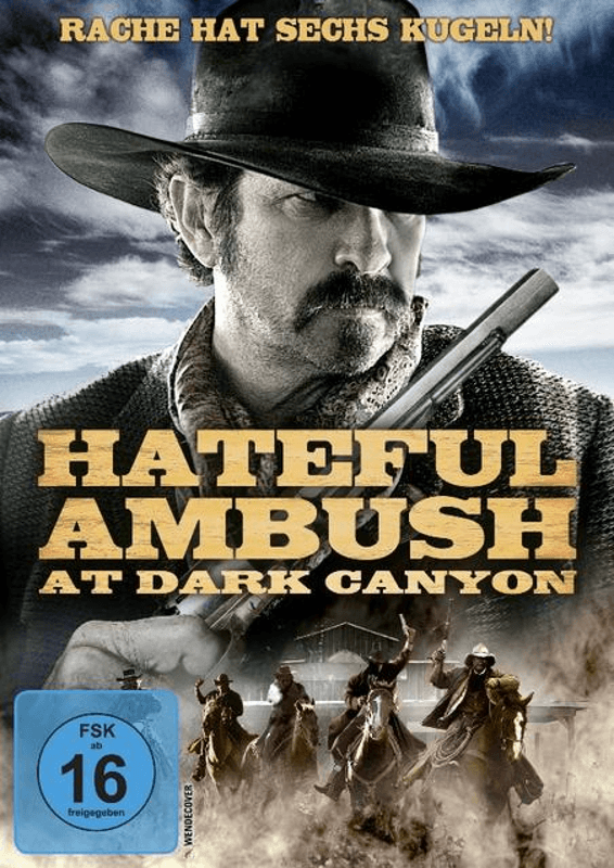 Hateful Ambush at Dark Canyon - (DVD)