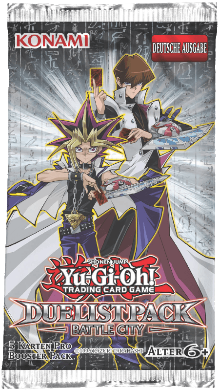 Yu-Gi-Oh! - Trading Card Game - Duelist Pack: Battle City Booster Pack