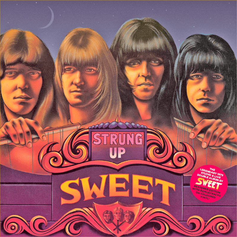 The Sweet - Strung Up (Full Colour Version) (Vinyl)