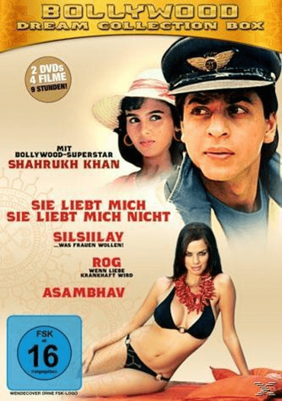 Bollywood-Dream Collection Box (4 Filme) - (DVD)