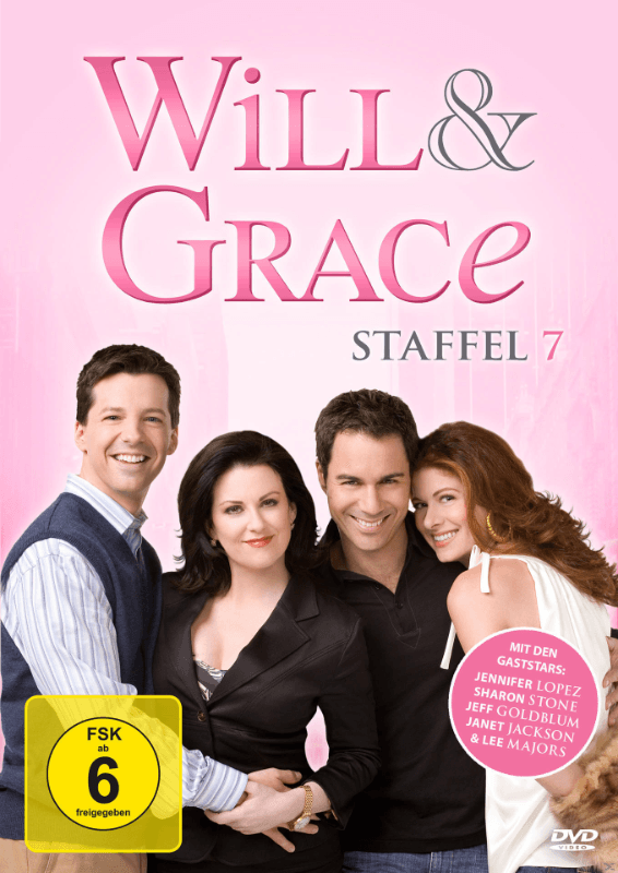 Will & Grace - Staffel 7 - (DVD)