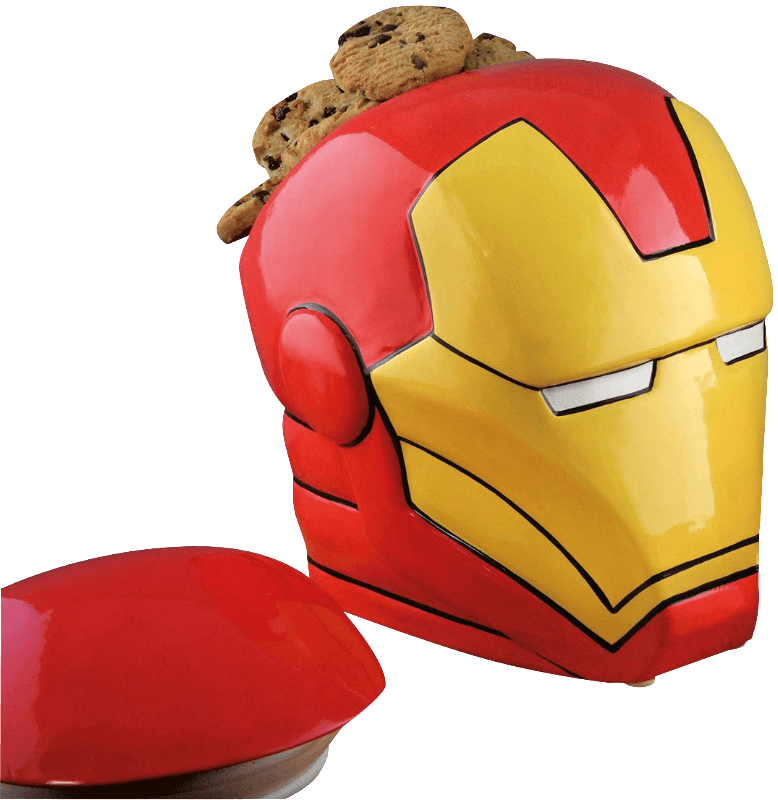 Iron Man Keksdose Helm