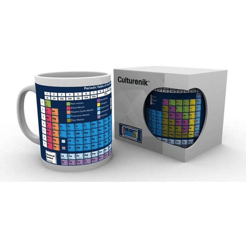 Periodensystem Tasse Periodic Table