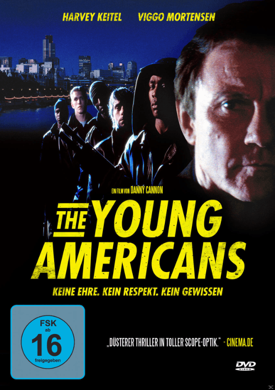 Young Americans - Todesspiele - (DVD)