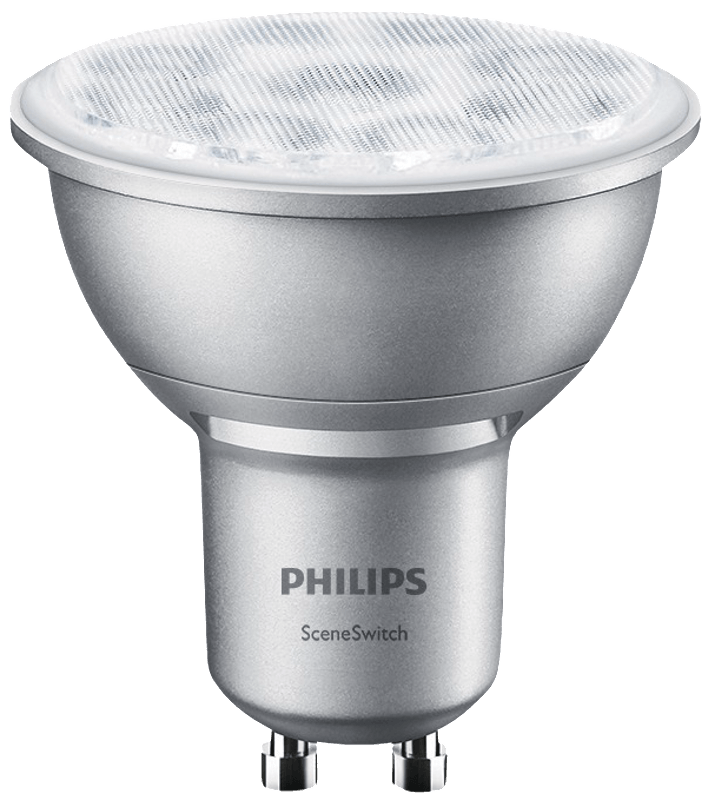 PHILIPS 59858000 SceneSwitch LED Leuchtmittel, Silber