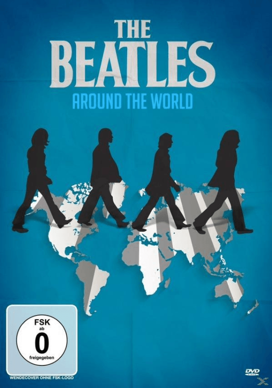 The Beatles - Around the World (In One Year) - (DVD)