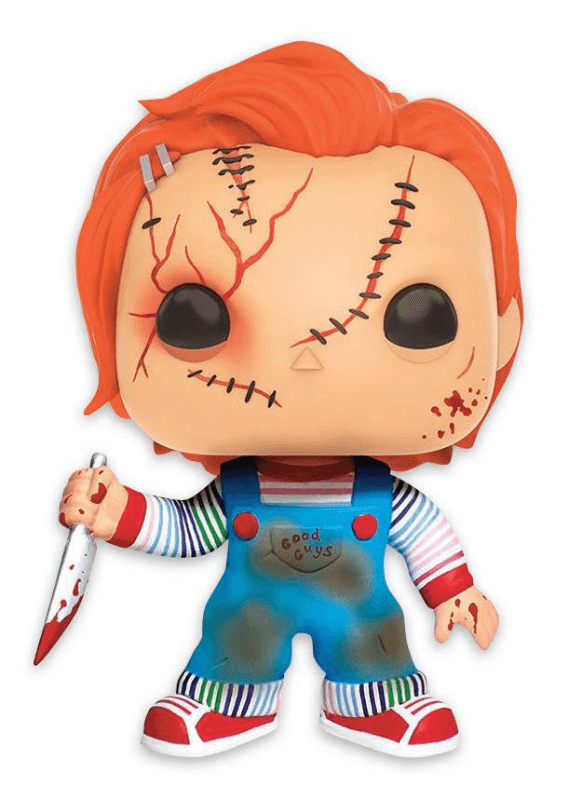 Bride of Chucky Pop! Vinyl Figur Scarred Chucky