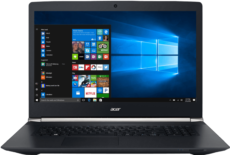 ACER Aspire V 17 Nitro (VN7-792G-51H3), Notebook mit Core i5 Prozessor, 8 GB RAM, 1 TB HDD, NVIDIA GeForce GTX 950M