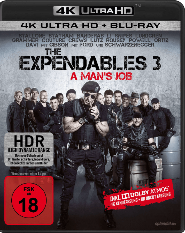 The Expendables 3 - A Man´s Job (Blu-ray)