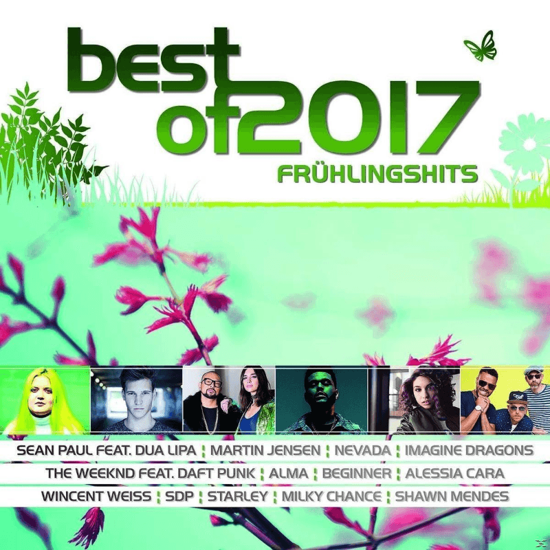 VARIOUS - Best Of 2017-Frühlingshits - (CD)