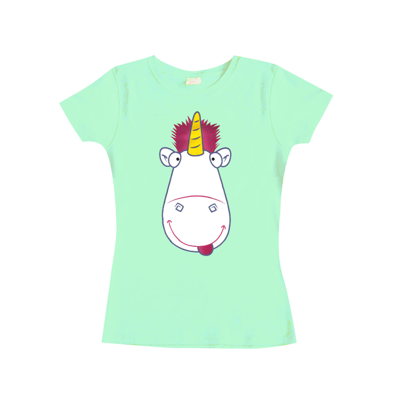 Despicable Me 3 Girlie Shirt Tongue In Cheek Unicorn S