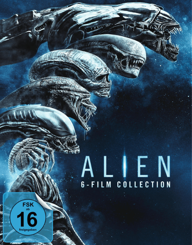 Alien 1-6 SteelBook - (Blu-ray)