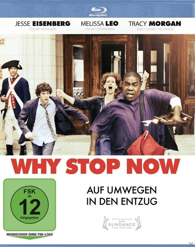 Why Stop Now - (Blu-ray)