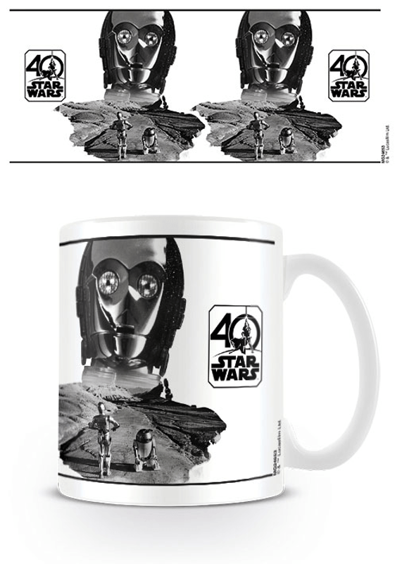 Star Wars Tasse 40th Anniversary (C-3PO)