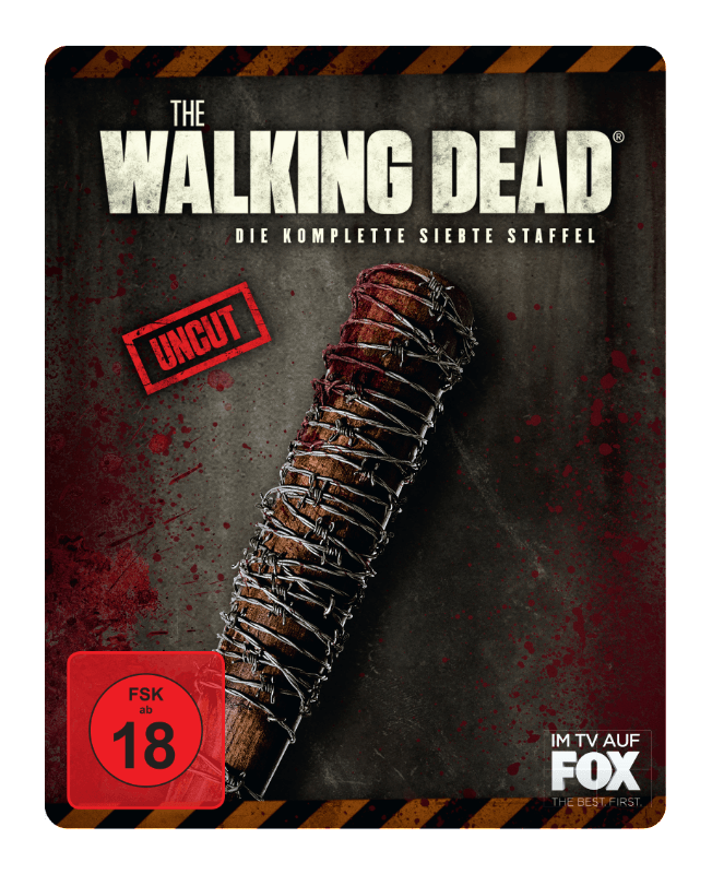 THE WALKING DEAD - 7. STAFFEL (STEEL-EDIT.) - (3D Blu-ray)