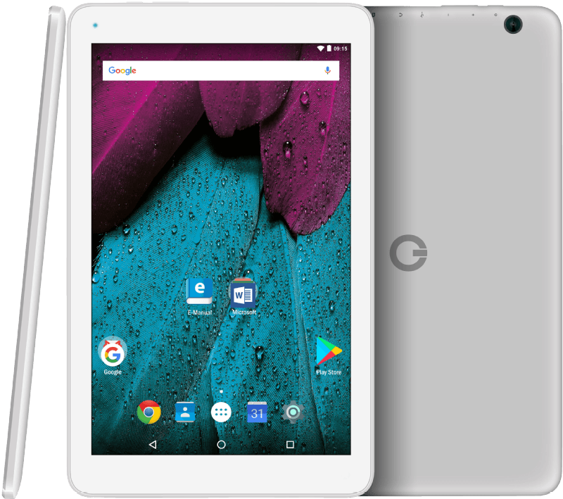 ODYS Pace 10 Office Edition, Tablet Mit 10.1 Zoll, 16 GB Speicher, 1 GB  RAM, Android 7.0 Nougat, Wei