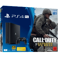 SONY 9944669 PS4 PRO 1TB +COD WWII+THATS YOU VOUCHER (Gaming)