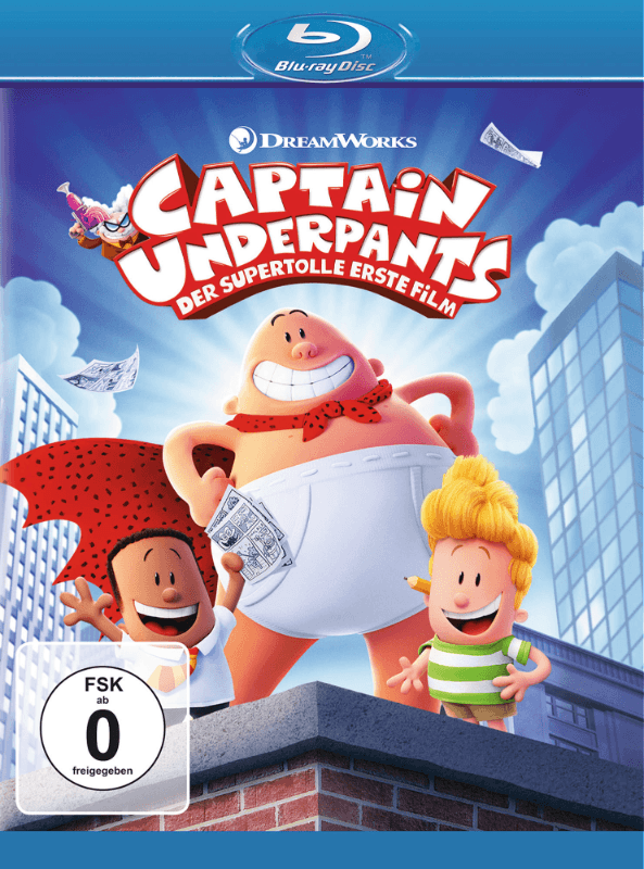 Captain Underpants - Der supertolle erste Film - (Blu-ray)