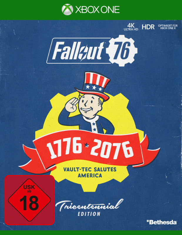 Fallout 76 Tricentennial Edition (Nur Online) - Xbox One