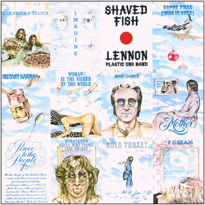 John Lennon - Shaved Fish - (CD)