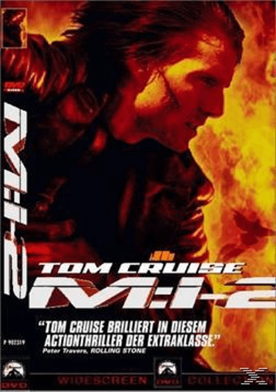 Mission: Impossible 2 Action DVD
