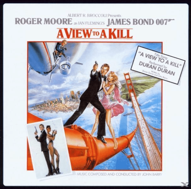 John Barry A View To A Kill Soundtrack CD