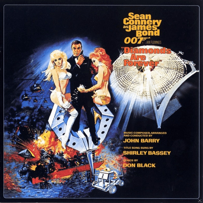 John Barry:Ost/Various Diamonds Are Forever (Remastered) Soundtrack CD