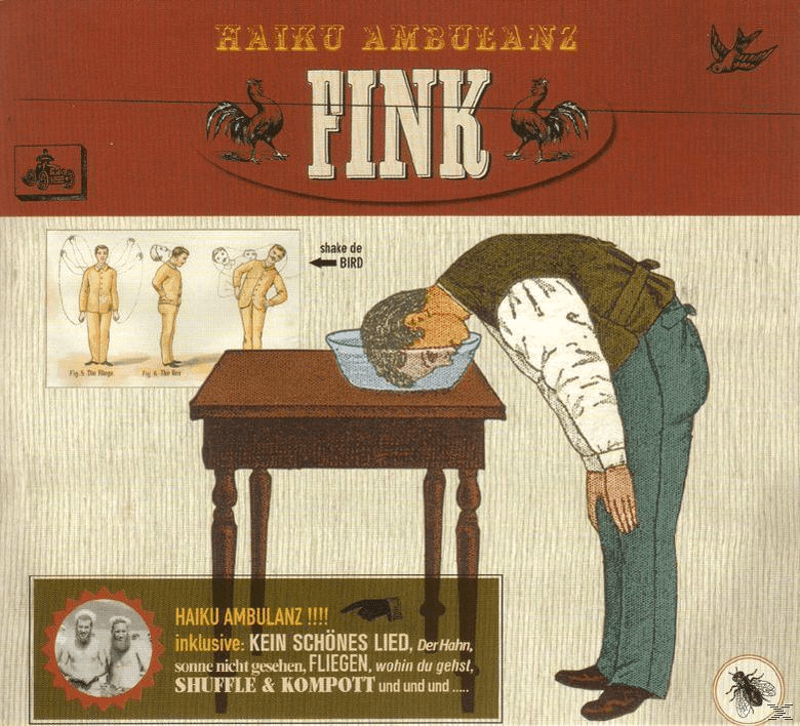 Fink - Haiku Ambulanz - (CD)