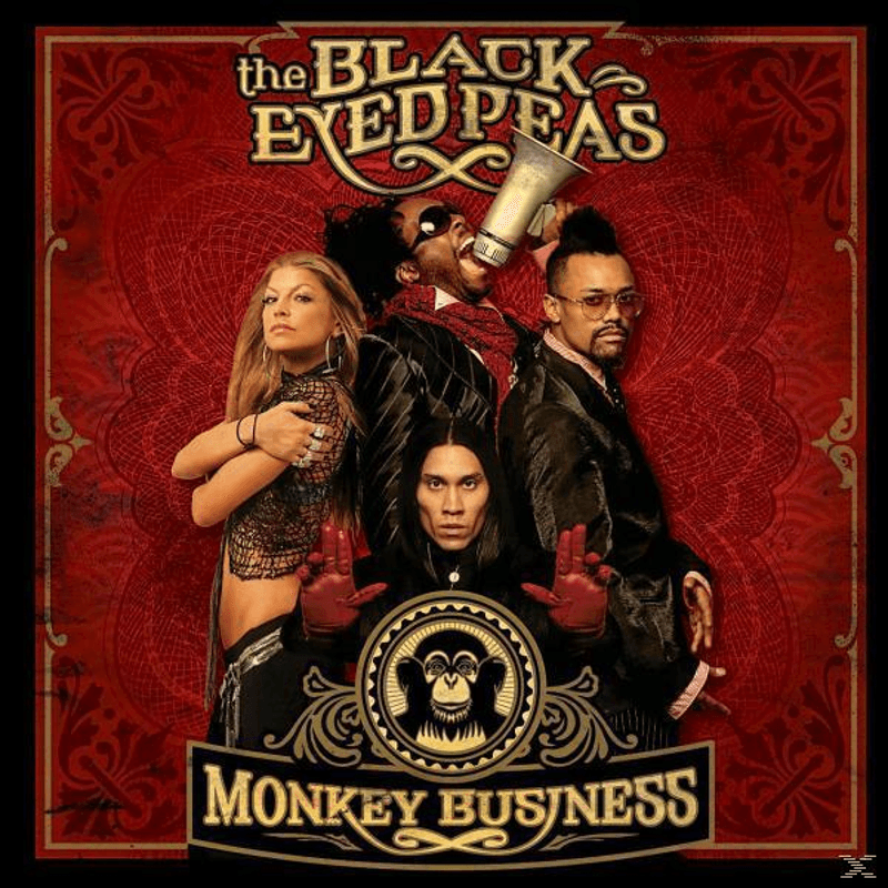 The Black Eyed Peas MONKEY BUSINESS HipHop CD