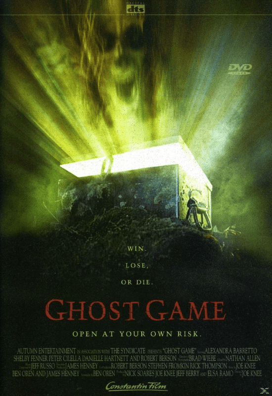 GHOST GAME - (DVD)