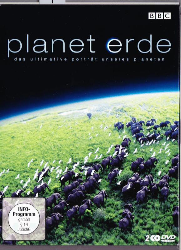 PLANET ERDE 1.STAFFEL - (DVD)