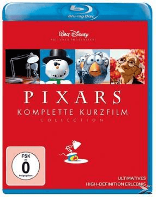 Pixars komplette Kurzfilm Collection - (Blu-ray)
