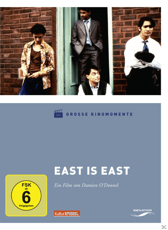 EAST IS (GROSSE KINOMOMENTE 2) - (DVD)