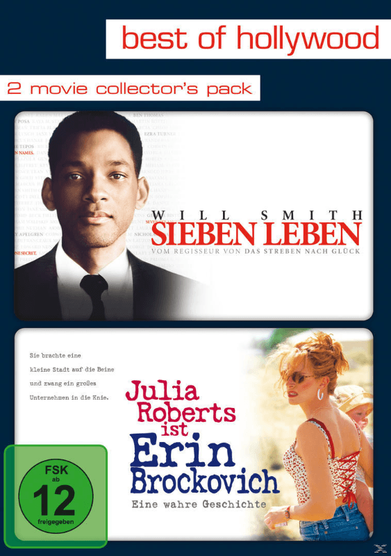 Sieben Leben / Erin Brockovich (Best Of Hollywood) Drama DVD