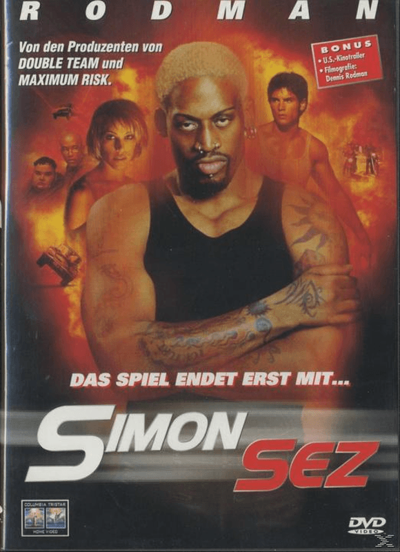 Simon Sez Action DVD