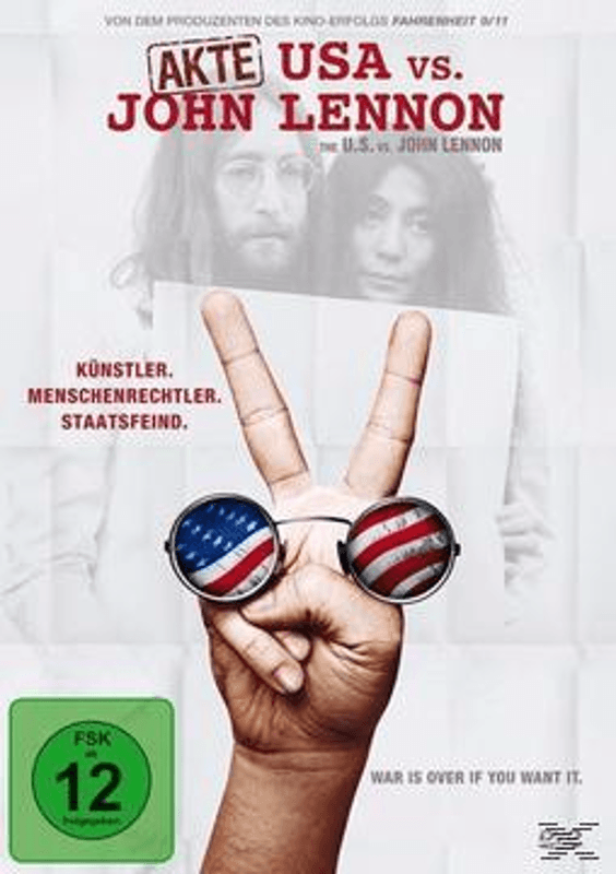 Akte USA vs. John Lennon - (DVD)