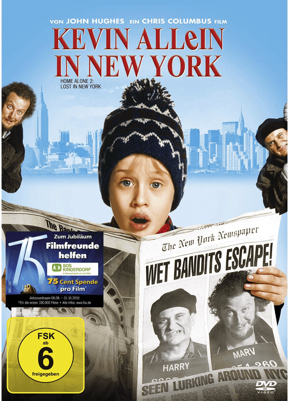 Kevin - Allein in New York - (DVD)