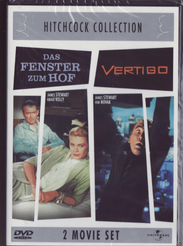 Hitchcock Collection: Das Fenster zum Hof / Vertigo (2 Movie Set) - (DVD)