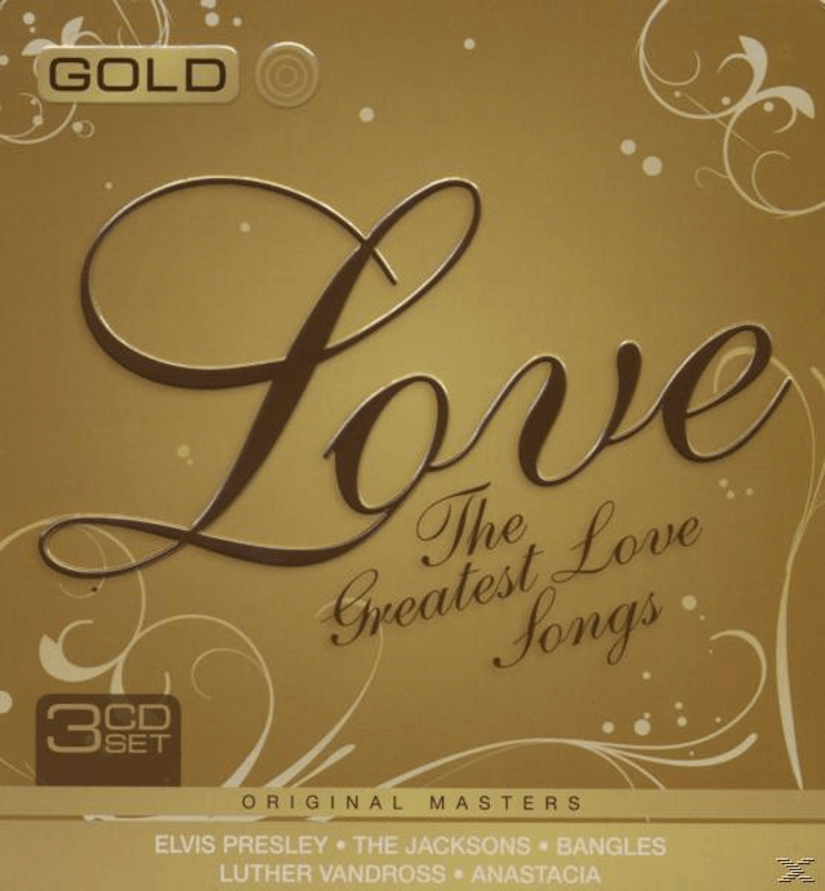 Various - Gold Greatest Love Songs (CD)