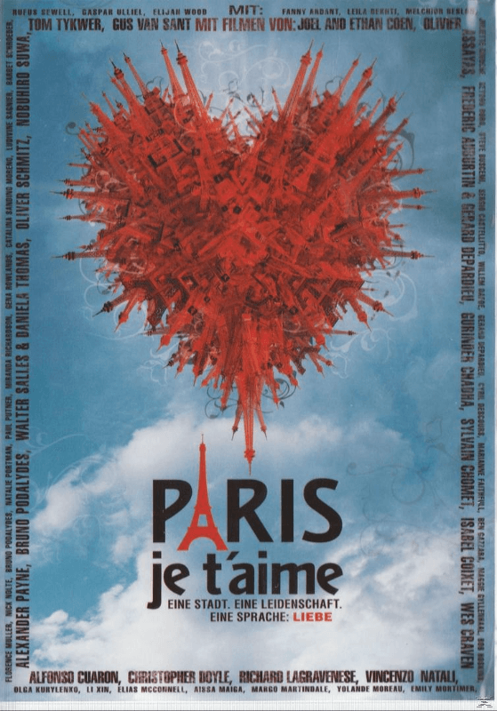Paris je t´aime - (DVD)