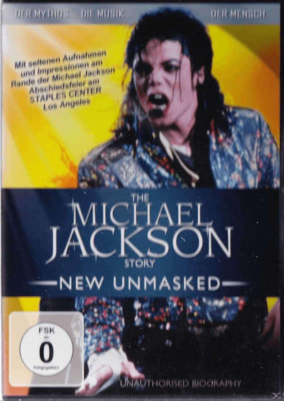 Michael Jackson - The Michael Jackson Story-New Unmasked - (DVD)