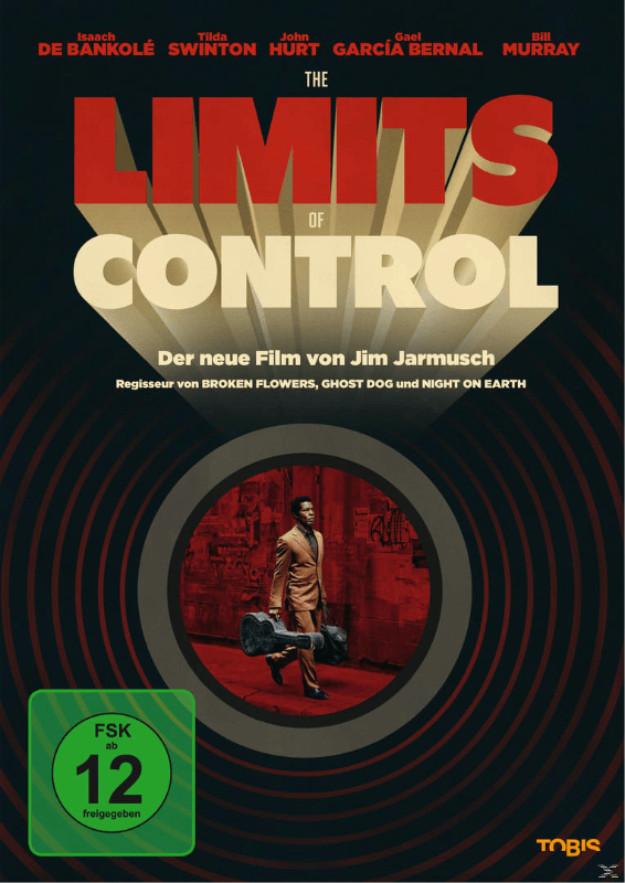 LIMITS OF CONTROL - (DVD)