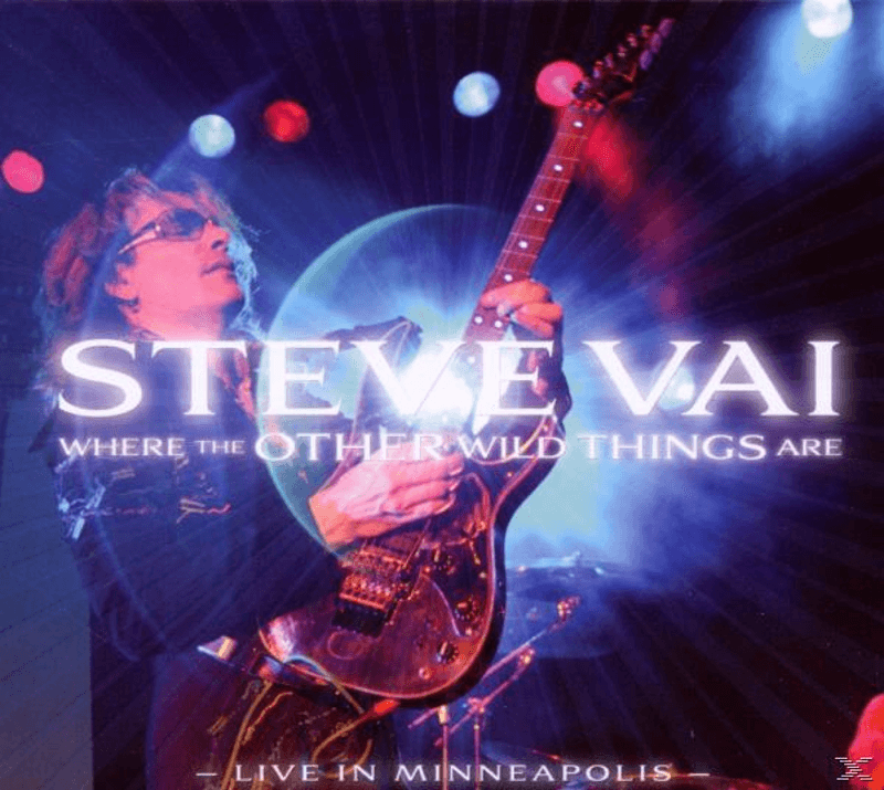 Steve Vai - Where The Other Wild Things Are - (CD)
